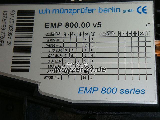 Beckmann 335 - WH Münzprüfer - Präsentiert von Münzer24.de