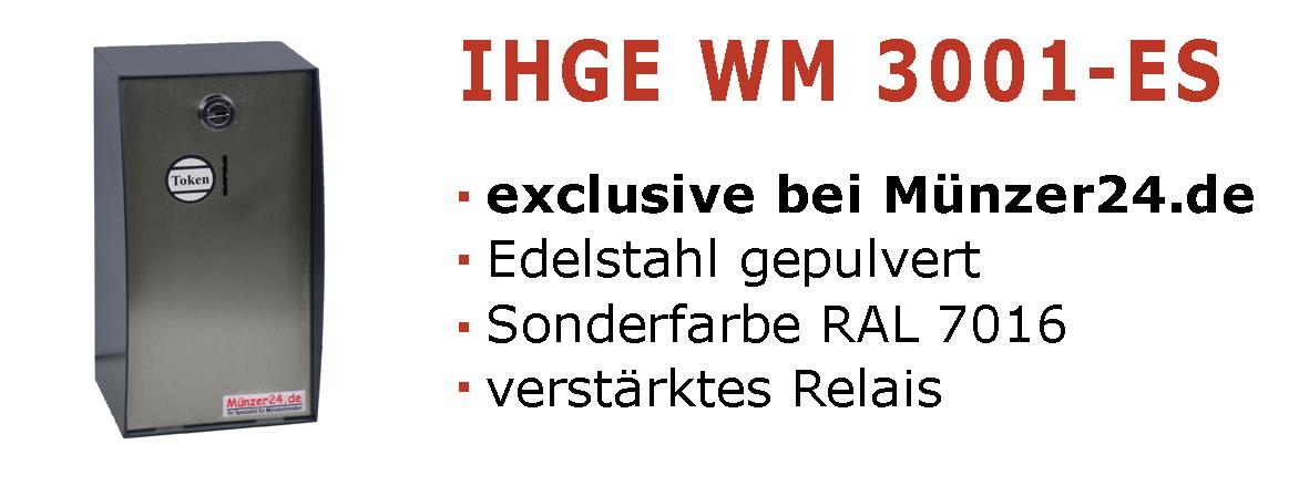 IHGE 3001 Edelstahl