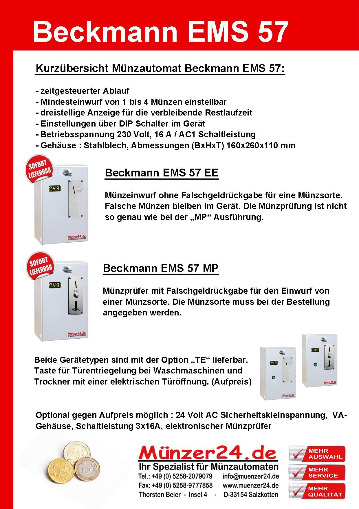 Beckmann EMS 57