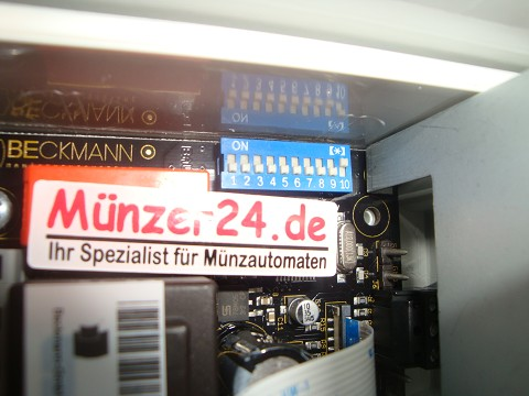 Einstellunge DIP Schalter Beckmann EMS 57