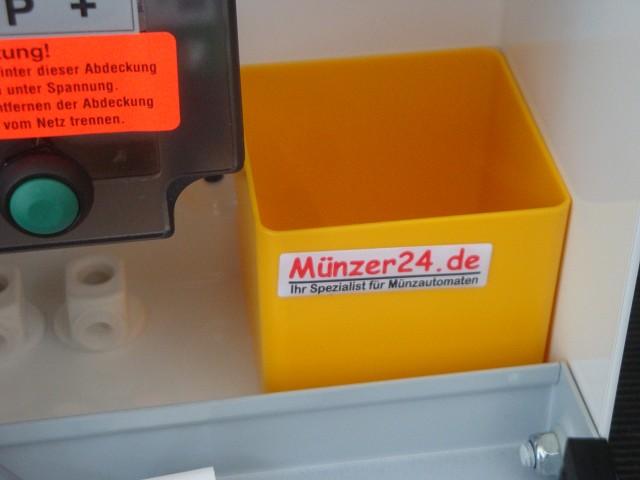 Geldbehälter beim Beckmann EMS 82