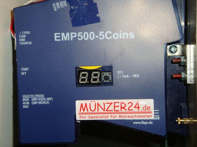 IHGE MP1500 - Münzprüfer - Präsentiert von Münzer24.de