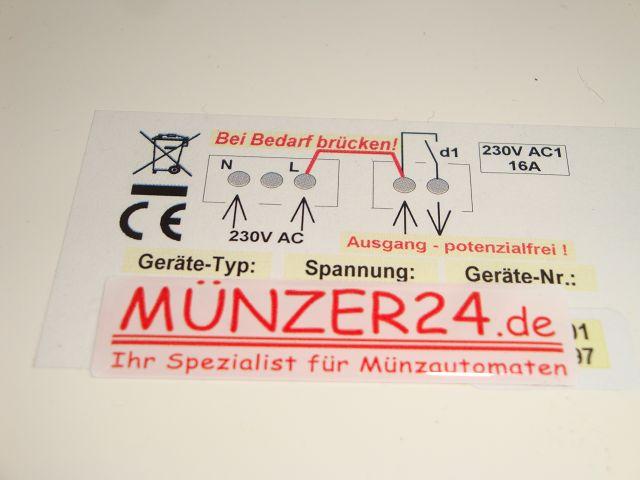 IHGE MP1500 - Skizze - Präsentiert von Münzer24.de