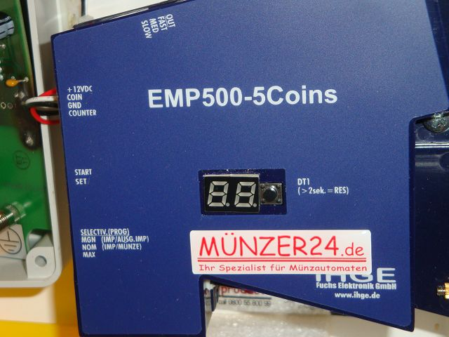IHGE MP250 - Münzprüfer - Präsentiert von Münzer24.de