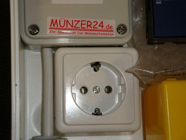 IHGE MP200 - PLUS mit Steckdose - Präsentiert von Münzer24.de