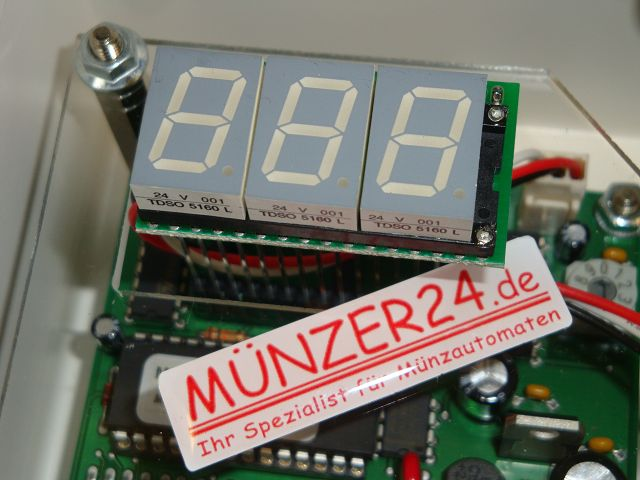IHGE MP250 - Zeitanzeige - Präsentiert von Münzer24.de