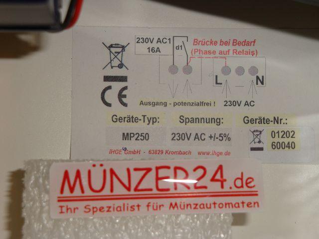 IHGE MP250 - Skizze - Präsentiert von Münzer24.de