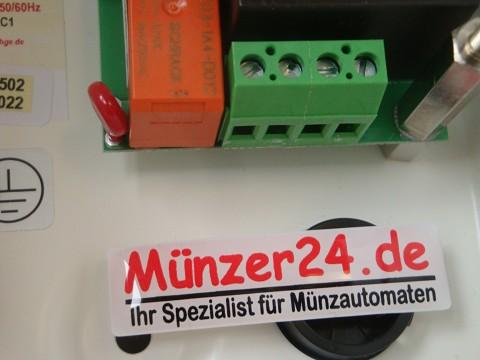 Münzautomat IHGE Anschluss