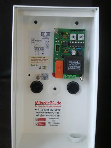 Münzautomat IHGE WM 3001 - innern