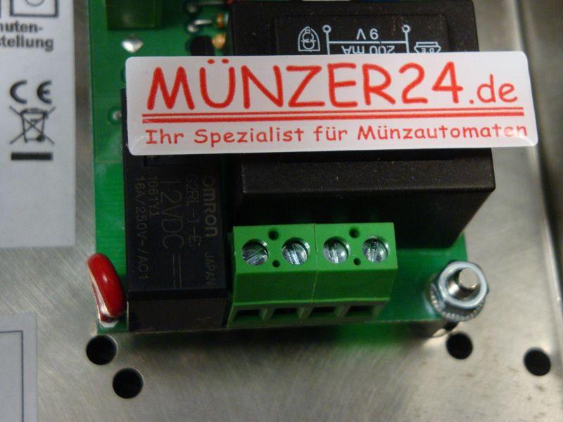 Münzautomat MAG EZ 50 Anschluss, präsentiert von Münzer24.de