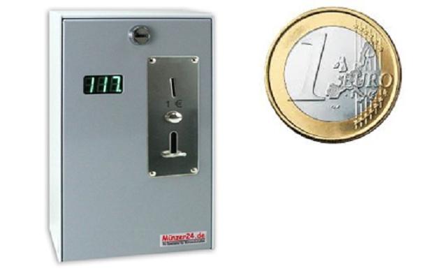 Kassiergeräte für Euro Münzen