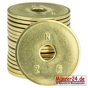 NZR Wertmarken für Münzkassierer