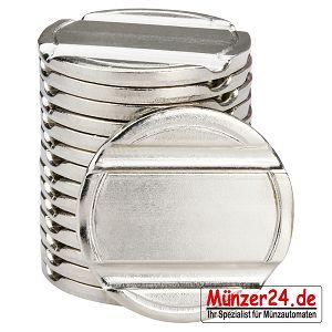 Wertmarke pd24 für Münzkassierer