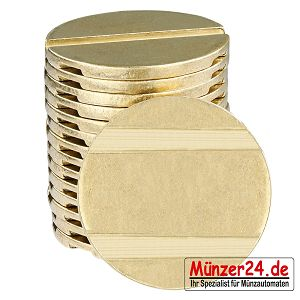 Wertmarke pd25 für Münzkassierer