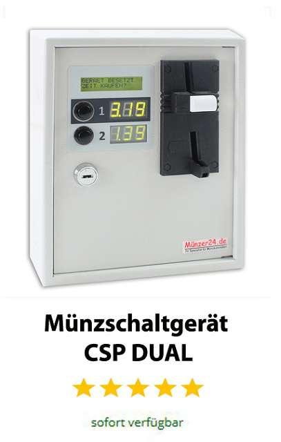Münzschaltgerät CSP-DUAL