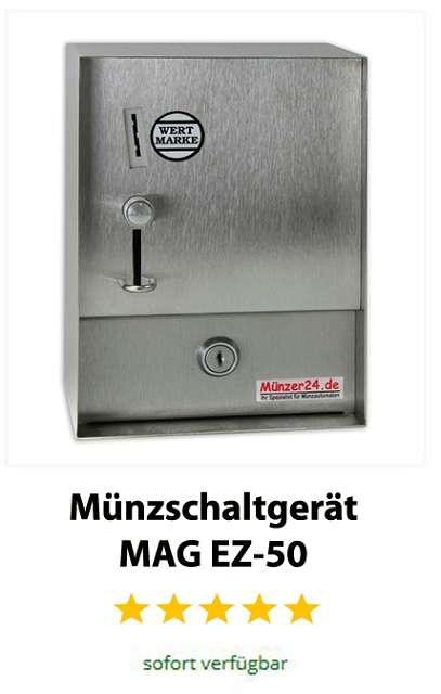 Wertmarken Münzschaltgerät MAG EZ 50
