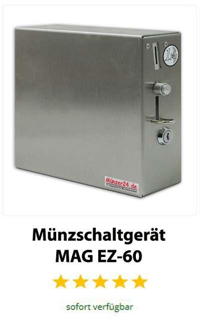 Edelstahl Münzschaltgerät MAG EZ 60