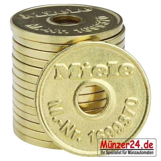 MIele Wertmarken für Münzschaltgeräte