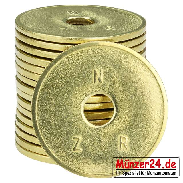 NZR Wertmarken für Münzschaltgeräte