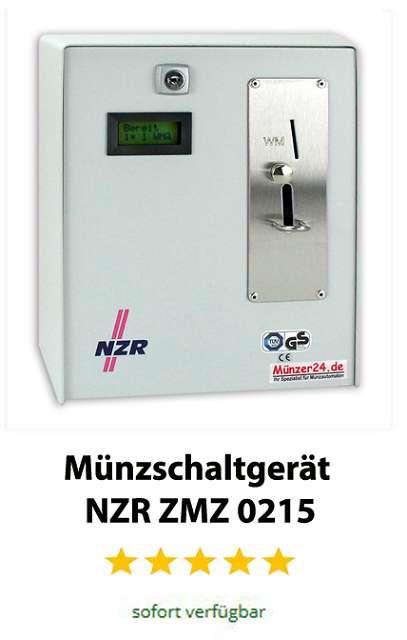 Edelstahl Münzschaltgerät NZR ZMZ 0215