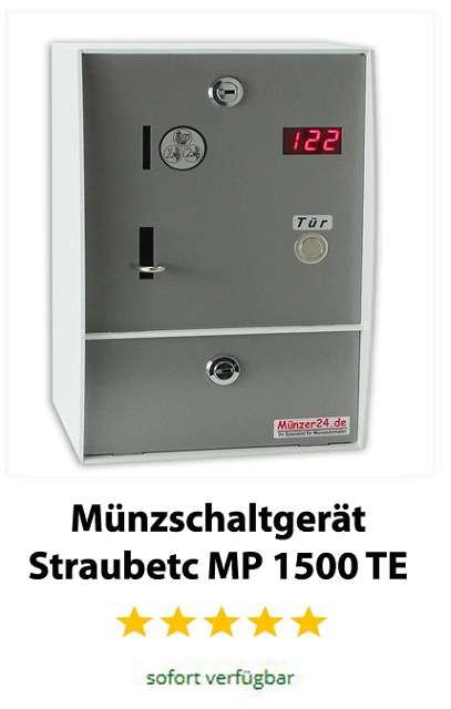 Münzschaltgerät Straubtec MP 1500 TE