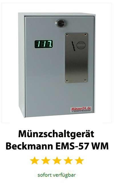 Wertmarken Münzschaltgerät Beckmann EMS 57