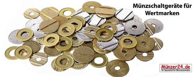 Wertmarken Münzschaltgeräte
