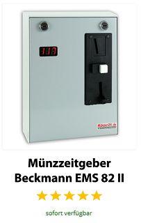 Münzzeitgeber Beckmann EMS 82 II