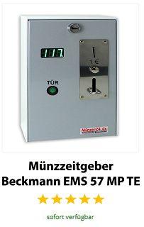 Münzzeitgeber Beckmann EMS 57 MP TE