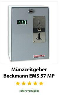 Münzzeitgeber Beckmann EMS 57