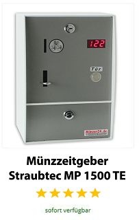Münzzeitgeber Straubtec MP 1500 TE