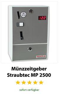 Münzzeitgeber Straubtec MP 2500