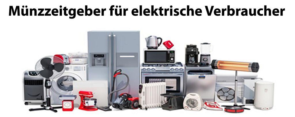 Münzzeitgeber für elektrische Verbraucher
