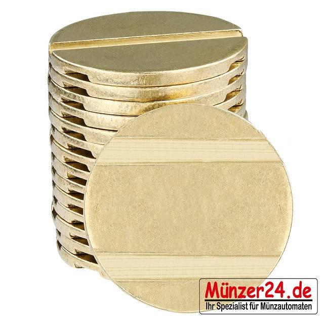 Wertmarke pd25 für Münzzeitschalter