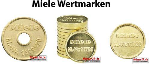 Miele Wertmarken