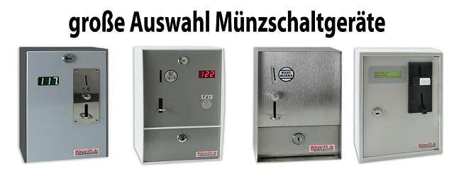 Münzschaltgeräte für elektrische Verbraucher